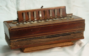 The first instrument called an 'accordion': by Cyrill Demian