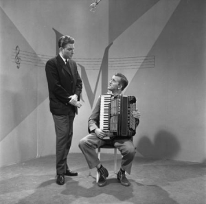Harry Mooten on Dutch television, 1959