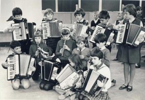 A schoolband from the UK in 1965